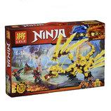 Конструктор Lele 31021 Ninja Золотой дракон 330 детали Ниндзяго