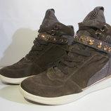 Кожаные кроссовки сникерсы Geox оригинал Европа