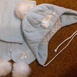 Комплект шапка и шарф Dembohouse