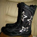 Сапожки чобітки зимові теплі шкіряні ELEFANTEN -TEX Оригінал Німеччина р.34 стелька 22 см