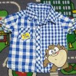 Мило Суперская рубашка George Идеально летом Разная клетка Отличная рубашечка. Выглядит стильно и