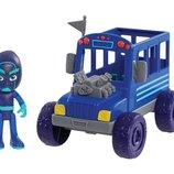 Just Play PJ Masks Герои в масках Ночной ниндзя и автобус Vehicle Figure Night Ninja Bus