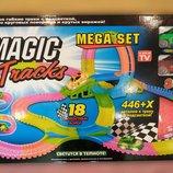 Большой Magic Tracks 446 деталей - 2 машинки - 18 дорог, мертвая петля