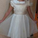 красивое платье, новый год, Jona Michelle 5-6 лет