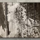 Фото и портрет на дереве и досках