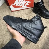 Ботинки Найк Nike Lunar Force 1 Duckboot All Black