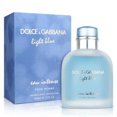 Мужская парфюмированная вода Dolce Gabbana Light Blue Eau Intense Pour Homme 125 мл