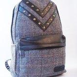Стильный, тканевый рюкзак