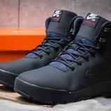 Зимние ботинки на меху Nike LunRidge, темно-синий, р. 41 - 45