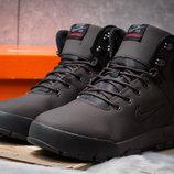 Зимние ботинки на меху Nike LunRidge, коричневые, р. 41 - 45