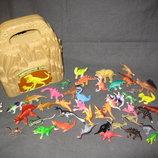 домик для динозавров