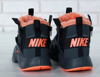 20c6ff18 Мужские зимние кроссовки Nike Huarache X Acronym City Winter Black/Orange.  Previous Next