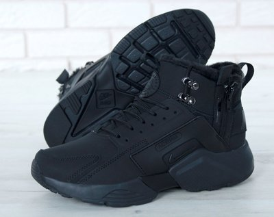7d4e3c28 Мужские зимние кроссовки Nike Huarache X Acronym City Winter Black.  Previous Next