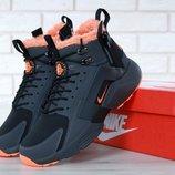 Мужские зимние кроссовки Nike Huarache X Acronym City Winter Black/Orange