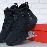 Мужские зимние кроссовки Nike Huarache X Acronym City Winter Black