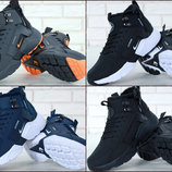 Мужские зимние кроссовки Nike Huarache X Acronym City Winter Black/White