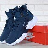 Мужские зимние кроссовки Nike Huarache X Acronym City Winter Blue