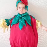Прокат Костюм помідор, помидор помидора,помидоры,помидорка,томата, овощи Огород к празднику осени