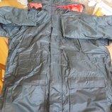 Зимняя мужская куртка парка. морская спецодежда