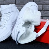 Зимние мужские кроссовки Nike Air Force   Найк Форс зима