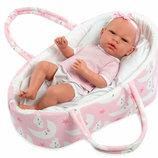 Испанская кукла пупс младенец реборн Энди, 38 см, MUNECAS ARIAS 50232