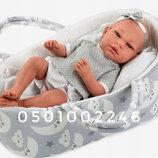 Испанская кукла пупс младенец реборн Энди, 38 см, MUNECAS ARIAS 50234
