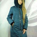 Зимнее и теплое пальто Амели, Размеры 50,52,54,56,58.