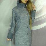 Оригинальное зимнее пальто Даян с капюшоном, Размеры 50,52,54,56,58.
