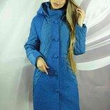 Стильное Зимнее пальто Венера, Размеры 50,52,54,56,58.