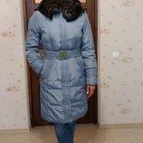 Пуховик Peercat, зимнее пальто, мех чернобурки
