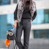 Тепленные брюки Косичка