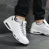 Зимние мужские кроссовки Nike 95 white