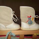 Сапоги сапожки ботинки кожаные демисезонные Rolly