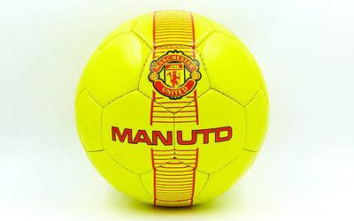 Мяч футбольный 5 гриппи Manchester 6716 PVC, сшит вручную