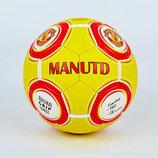 Мяч футбольный 5 гриппи Manchester 8015 PVC, сшит вручную