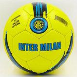 Мяч футбольный 5 гриппи Inter Milan 6714 PVC, сшит вручную