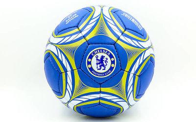 Мяч футбольный 5 гриппи Chelsea 0047-162 PVC, сшит вручную
