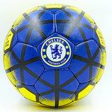 Мяч футбольный 5 гриппи Chelsea 0047-163 PVC, сшит вручную