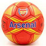 Мяч футбольный 5 гриппи Arsenal 6717 PVC, сшит вручную