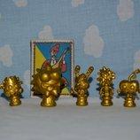 Забавные золотые фигурки Moshi Monsters Моши монстер игрушки фигурки