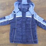 Куртка теплая Girl2Girl 3-4 года 104см