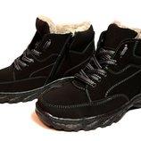 Ботинки мужские на меху - Зима