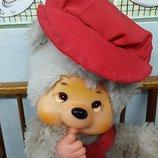 Мишка медведь кукла друг Мончичи Monchhichi винтаж