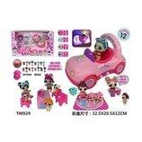 Набор кукол Лол Lol с розовой машиной