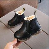 Ботинки утепленные мехом