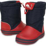 зимние сапоги crocs Kids Crocband LodgePoint Boot Детские сапоги Crocs Crocband LodgePoint Boot c6