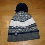 Молодежная мужская зимняя шапка