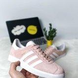 Стильные розовые, пудровые кроссовки, кеды 36, 38, 39, 40 рр