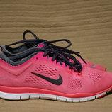 Легкие функциональные нежно розовые фирменные кроссовки Nike Free 5.0 Tr fit 4. 36,5 р.