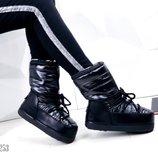 Луноходы женские высокие moon boot